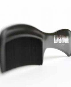 King Brown Black Handle Comb