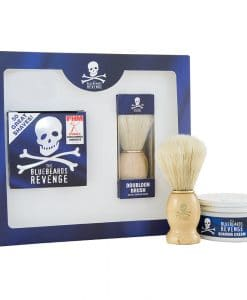 Bluebeards Revenge Shaving Cream & Doubloon Brush Kit