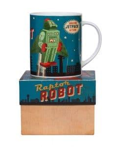 Japanese Robot Mug