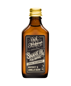 Dick Johnson Beard Oil Snake Oil
