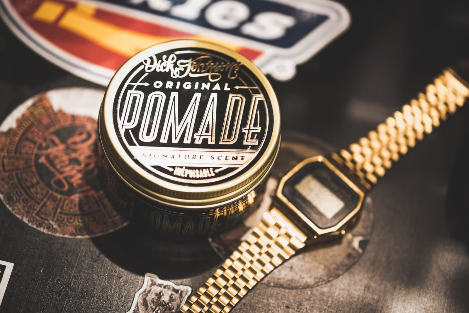 Dick Johnson Pomade Inepuisable | Beard Oil | Hair | Grooming | Shaving |  Gifts for Men