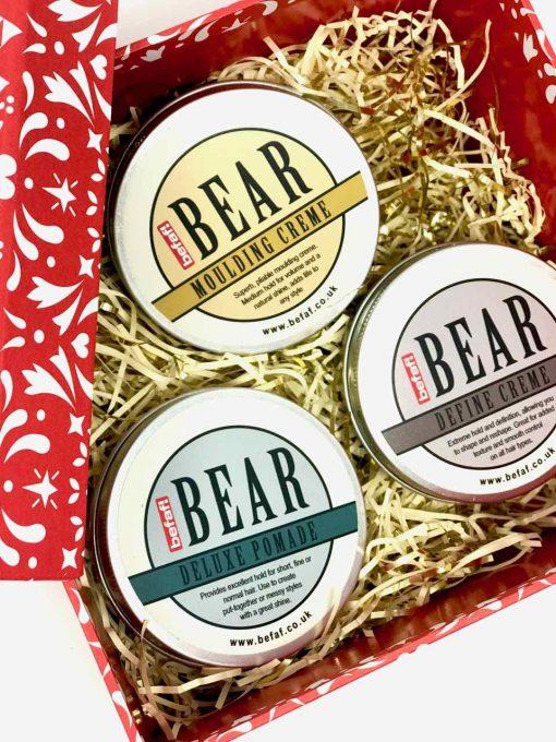 Bear Christmas Hair Gift Set