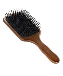 Acca Kappa Pneumatic Kotib_ Wood Paddle Brush With Pom Pins
