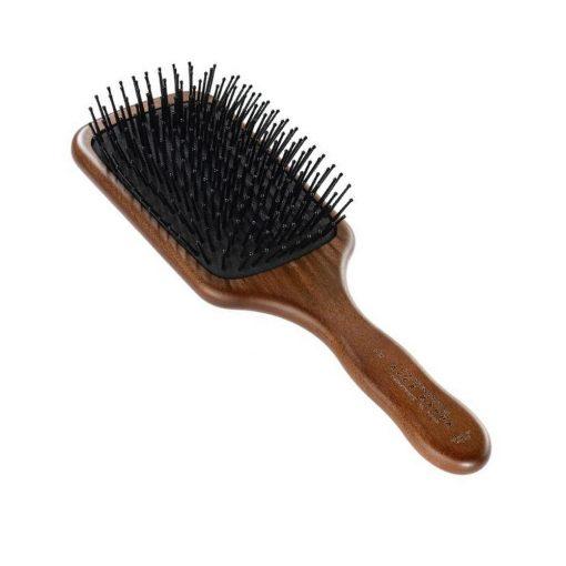 Acca Kappa Pneumatic Kotib_ Wood Paddle Brush With Pom Pins