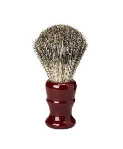Acca Kappa Vintage Venetian Red Pure Badger Shaving Brush