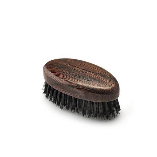 Acca Kappa Weng_ Wood Beard Brush With Natural Black Bristles