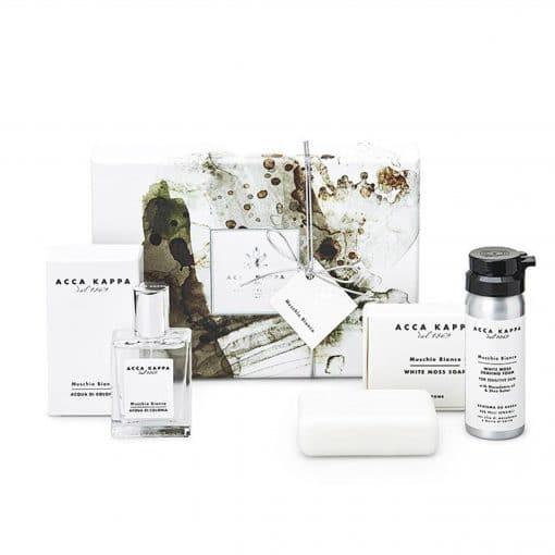 Acca Kappa White Moss Gift Set of Eau De Cologne 30ml