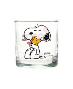 Snoopy Glass