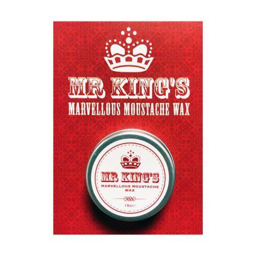 MR KINGS Marvellous Moustache Wax (15g)